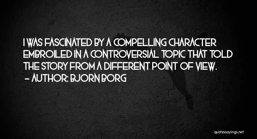 Different Topic Quotes By Bjorn Borg