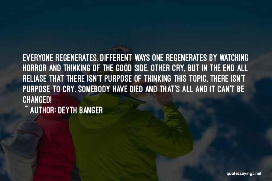 Different Topic Quotes By Deyth Banger