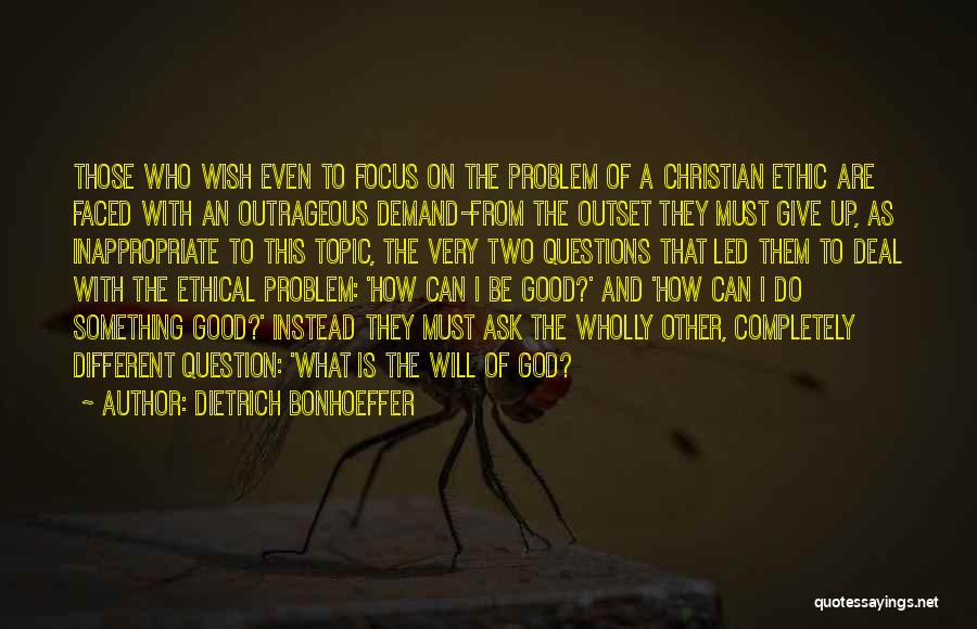 Different Topic Quotes By Dietrich Bonhoeffer