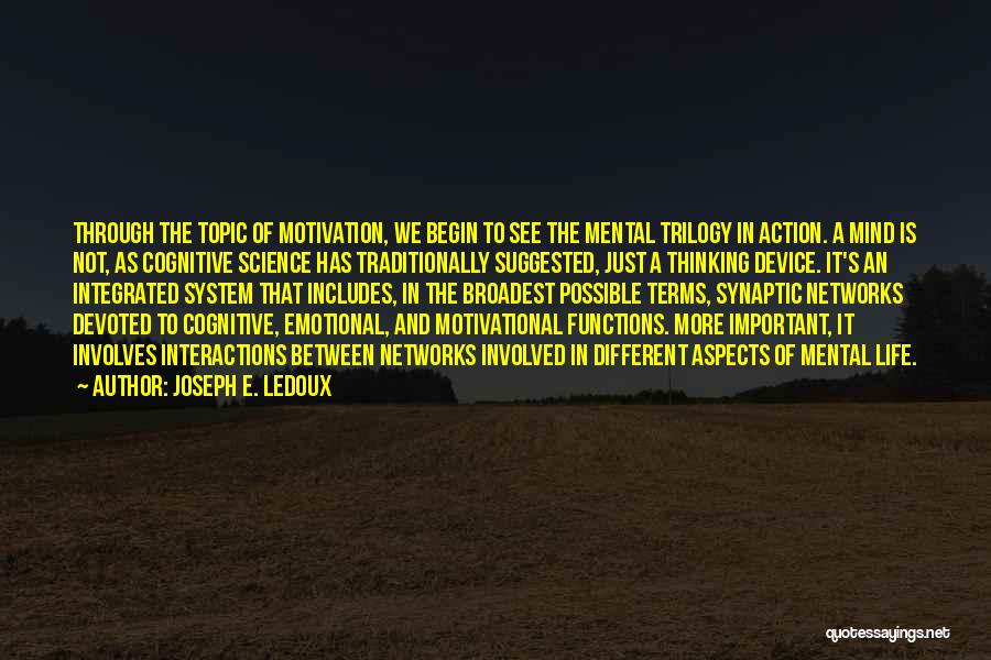 Different Topic Quotes By Joseph E. Ledoux