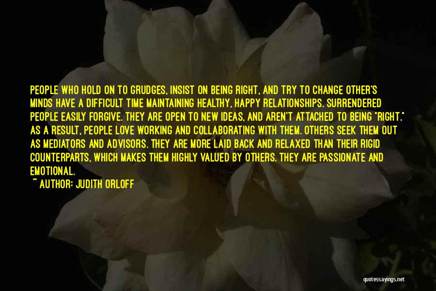 Difficult Love Relationships Quotes By Judith Orloff