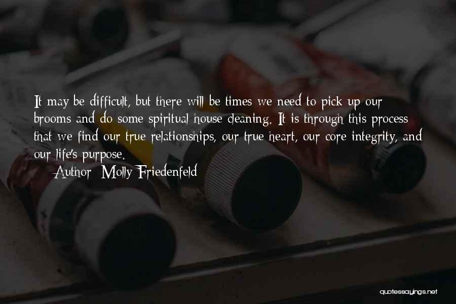 Difficult Love Relationships Quotes By Molly Friedenfeld