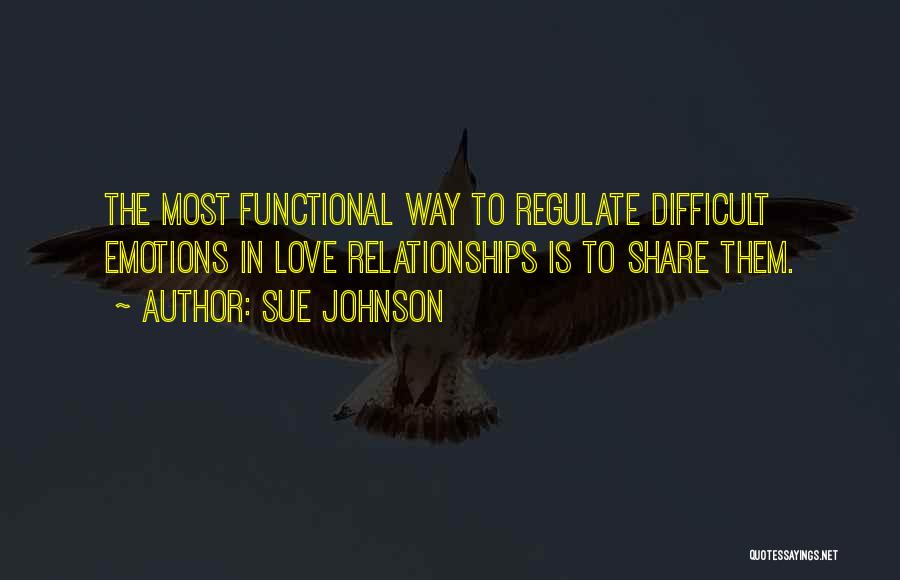 Difficult Love Relationships Quotes By Sue Johnson