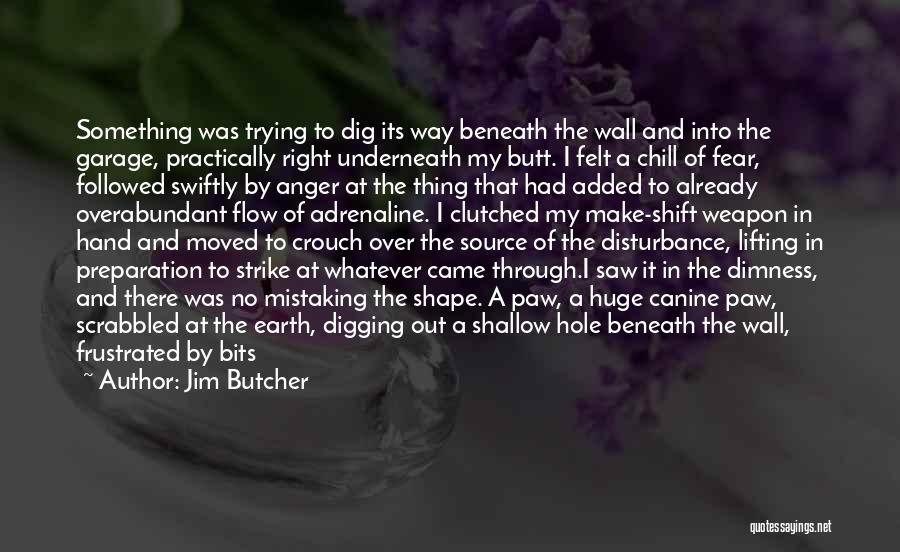 Digging Yourself A Hole Quotes By Jim Butcher