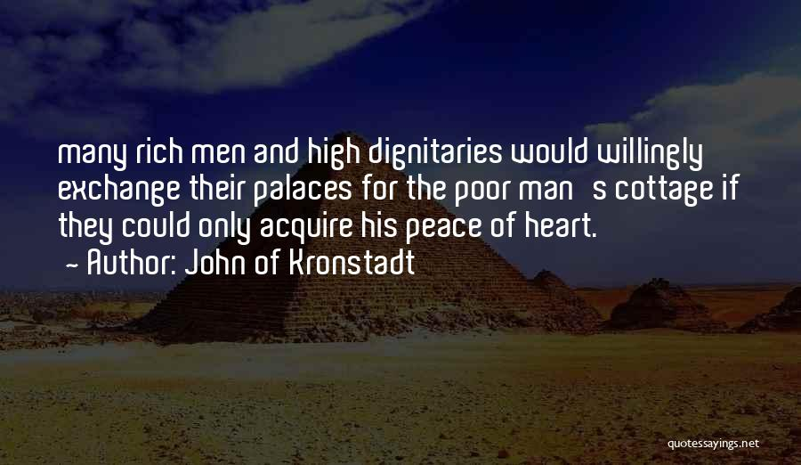 Dignitaries Quotes By John Of Kronstadt