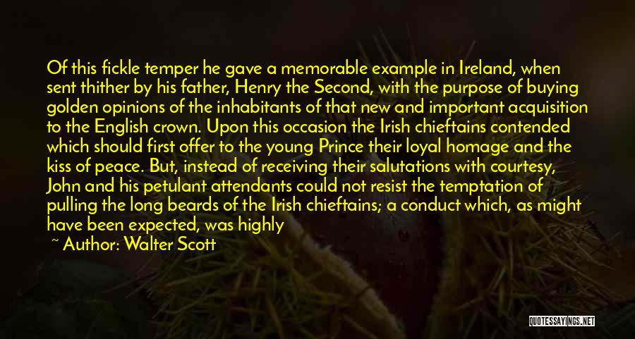Dignitaries Quotes By Walter Scott