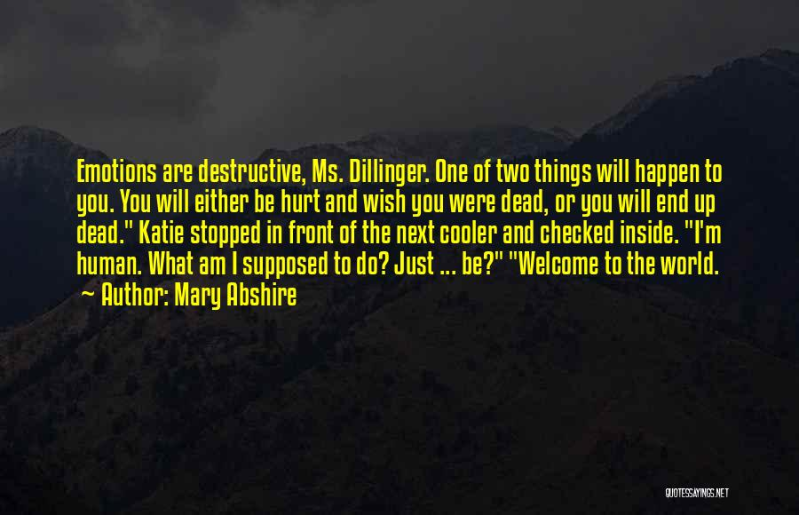 Dillinger Quotes By Mary Abshire