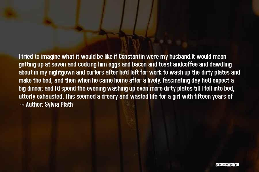 Dinner Plates Quotes By Sylvia Plath