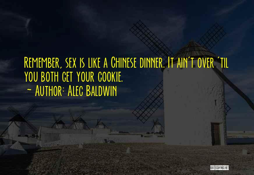 Dinner Quotes By Alec Baldwin