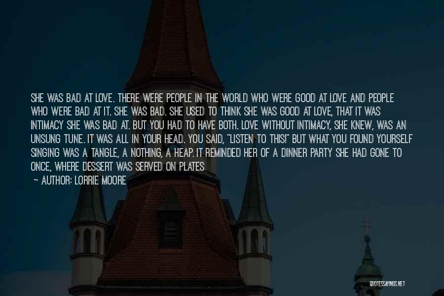 Dinner Quotes By Lorrie Moore