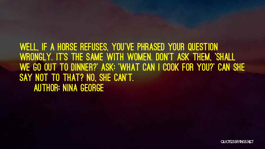 Dinner Quotes By Nina George