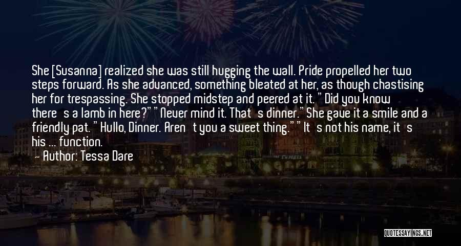 Dinner Quotes By Tessa Dare