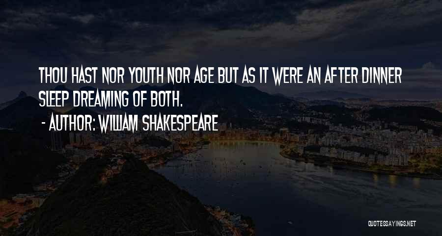 Dinner Quotes By William Shakespeare