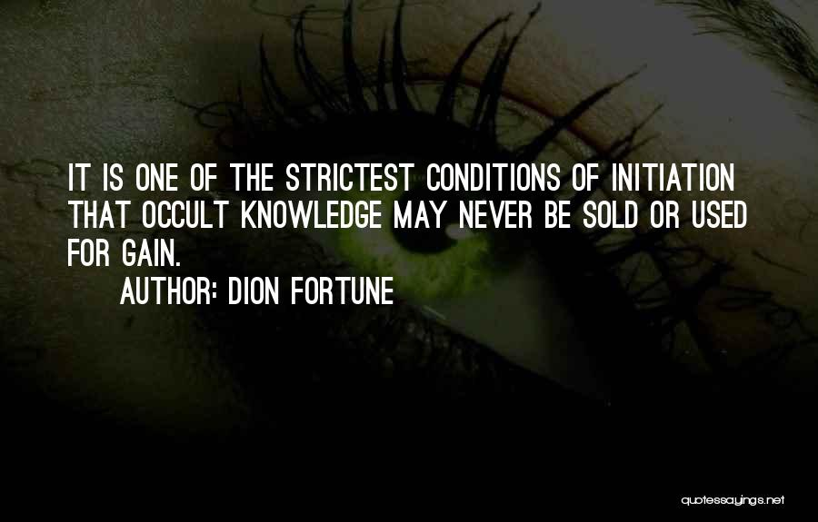 Dion Fortune Quotes 1138209