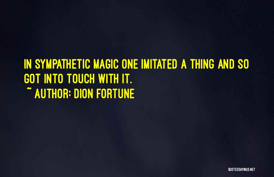 Dion Fortune Quotes 1591492
