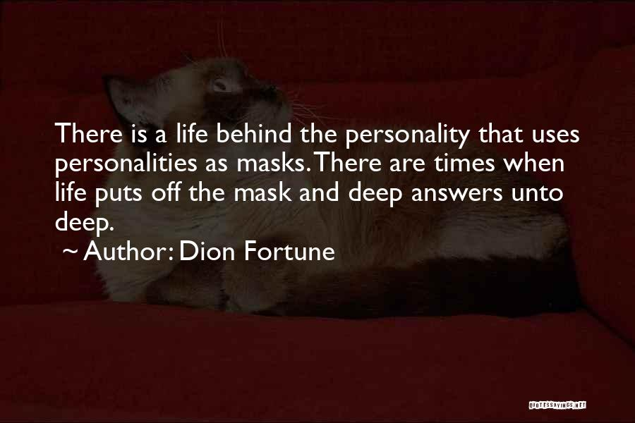 Dion Fortune Quotes 426715