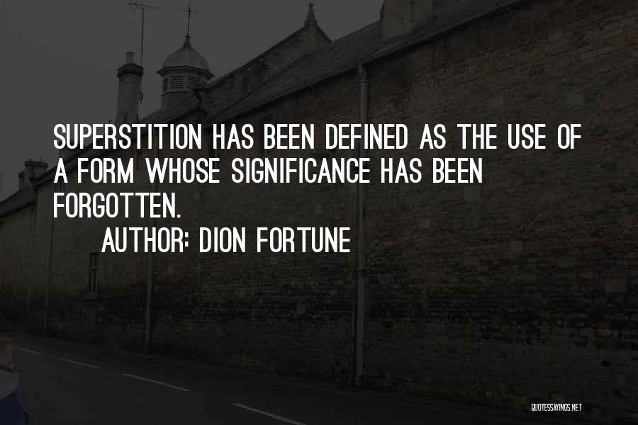 Dion Fortune Quotes 83309