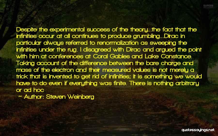 Dirac Quotes By Steven Weinberg