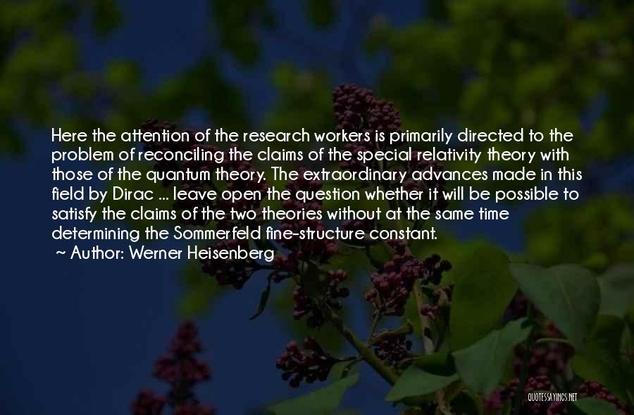 Dirac Quotes By Werner Heisenberg
