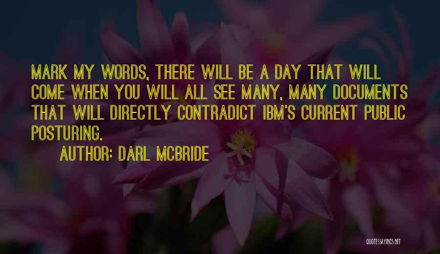 Directly Quotes By Darl McBride