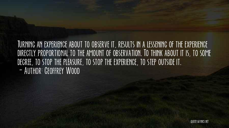 Directly Quotes By Geoffrey Wood