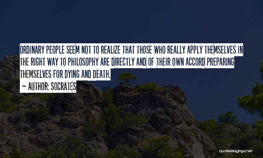Directly Quotes By Socrates