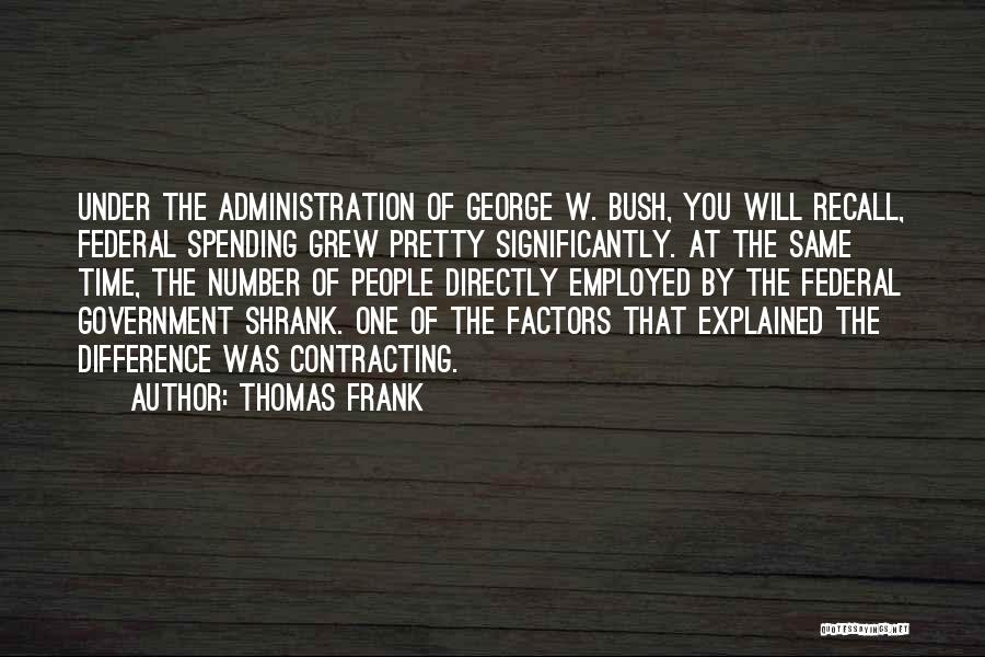 Directly Quotes By Thomas Frank
