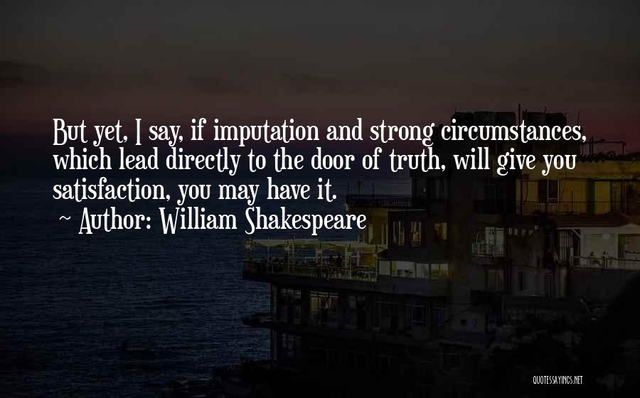 Directly Quotes By William Shakespeare