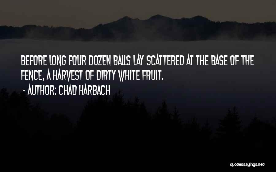 Dirty Thirty Quotes By Chad Harbach