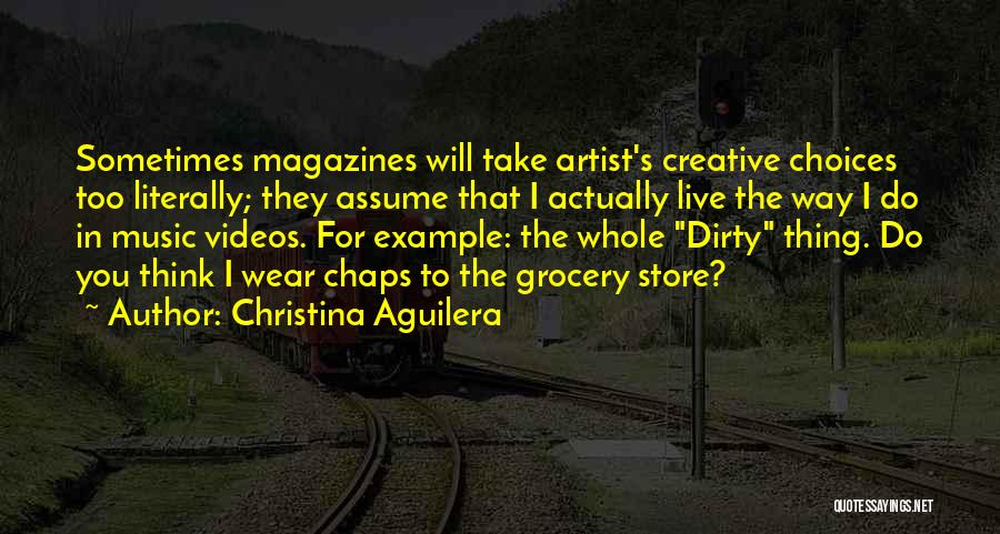 Dirty Thirty Quotes By Christina Aguilera