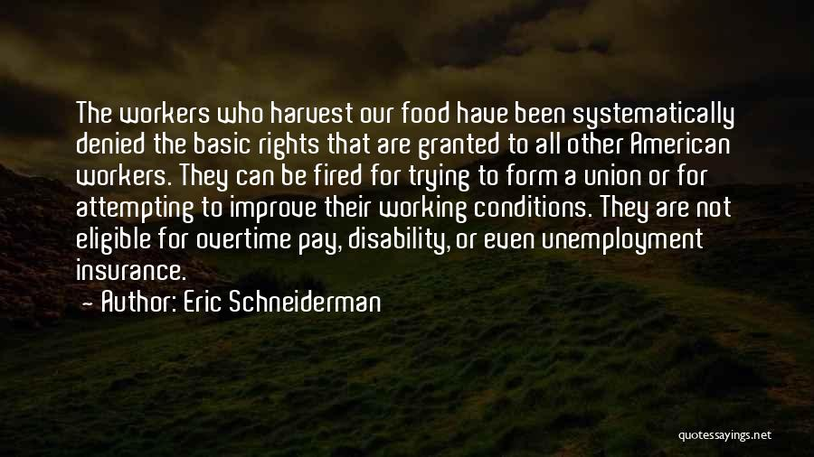 Disability Insurance Quotes By Eric Schneiderman