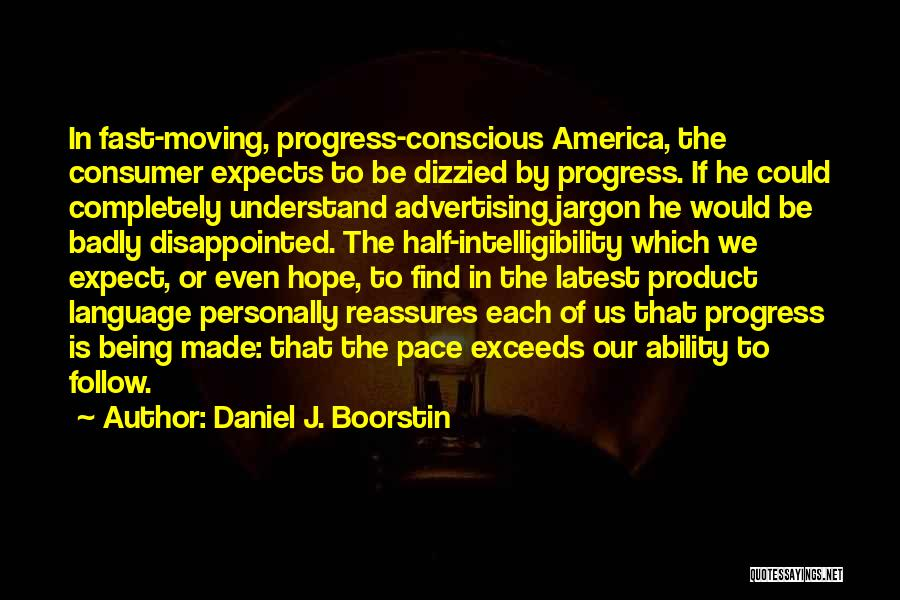 Disappointed Hope Quotes By Daniel J. Boorstin