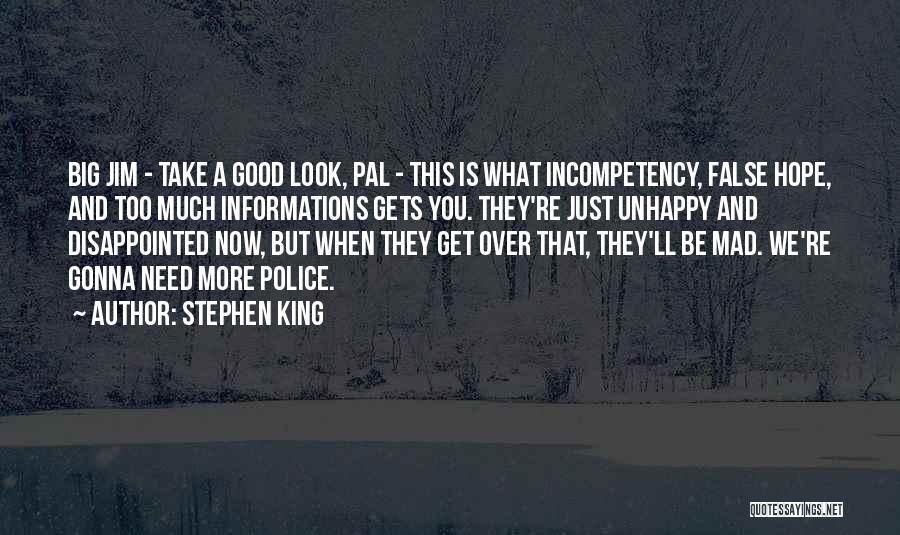 Disappointed Hope Quotes By Stephen King