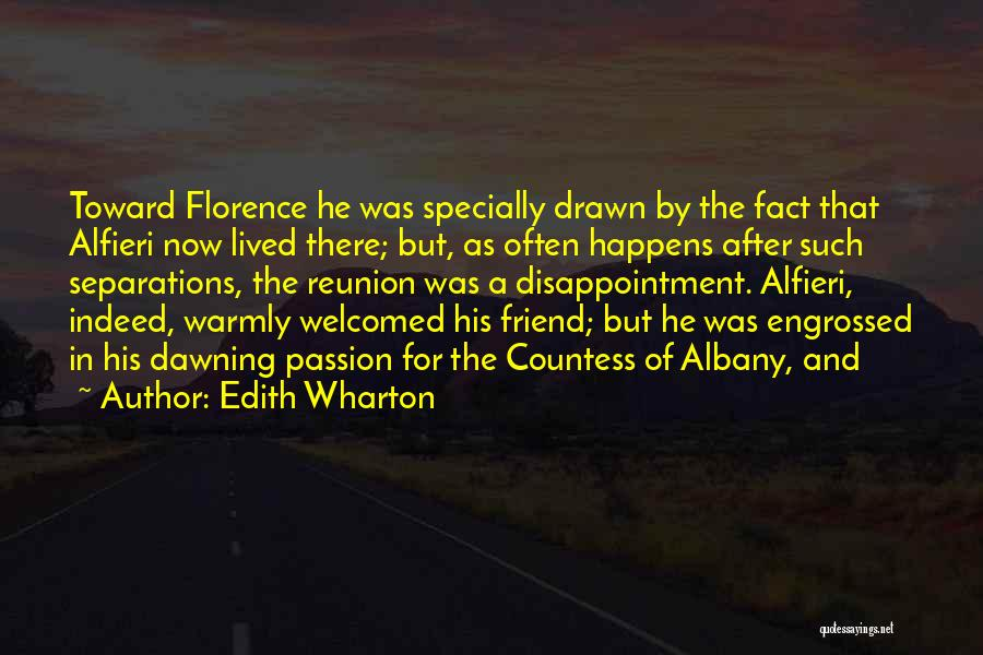 Disappointment In Friend Quotes By Edith Wharton