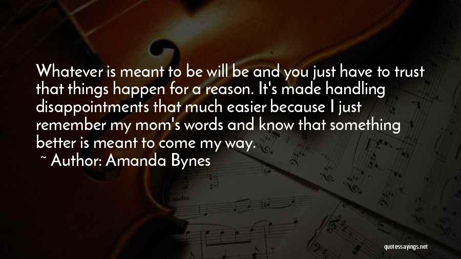 Disappointment In Trust Quotes By Amanda Bynes