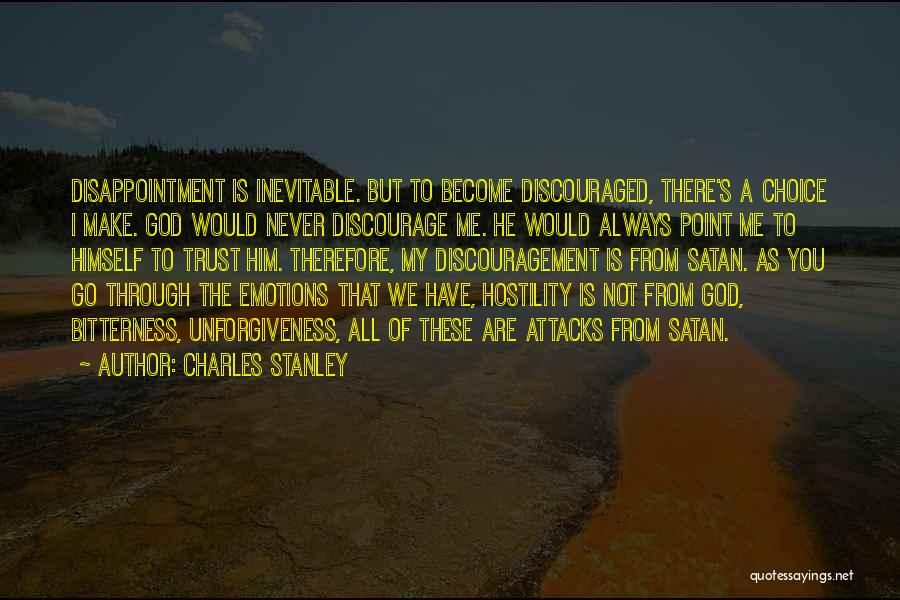 Disappointment In Trust Quotes By Charles Stanley