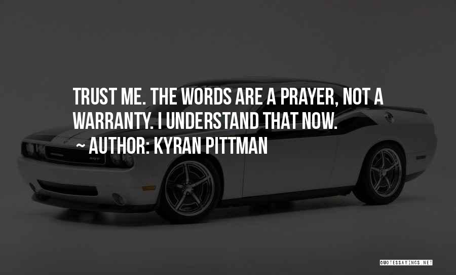 Disappointment In Trust Quotes By Kyran Pittman