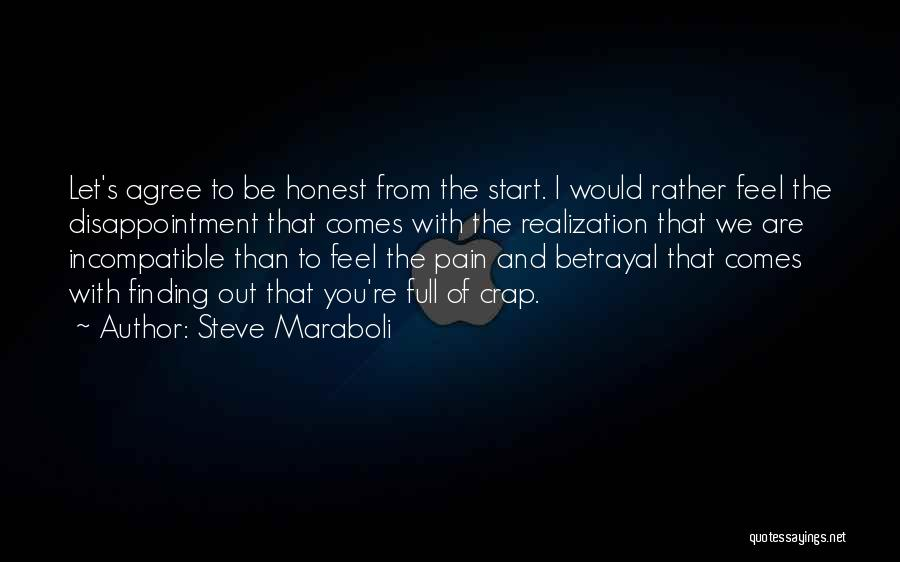 Disappointment In Trust Quotes By Steve Maraboli