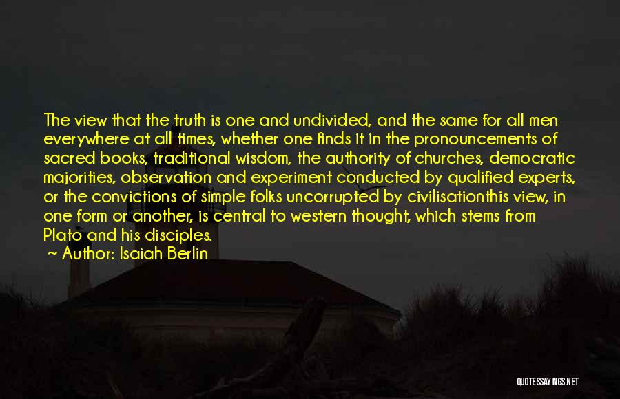 Disciples 2 Quotes By Isaiah Berlin