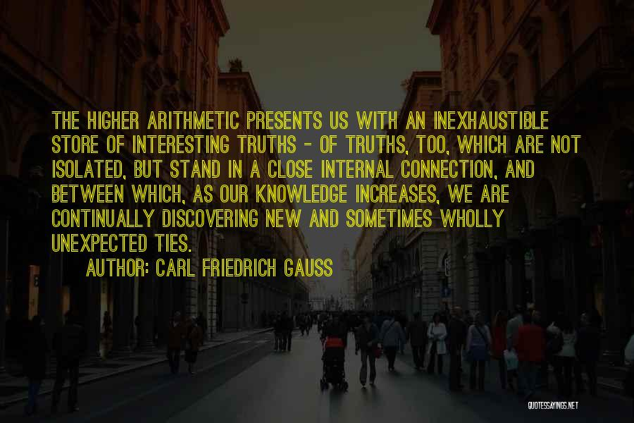 Discovering New Things Quotes By Carl Friedrich Gauss