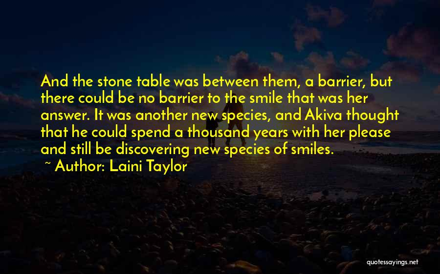 Discovering New Things Quotes By Laini Taylor
