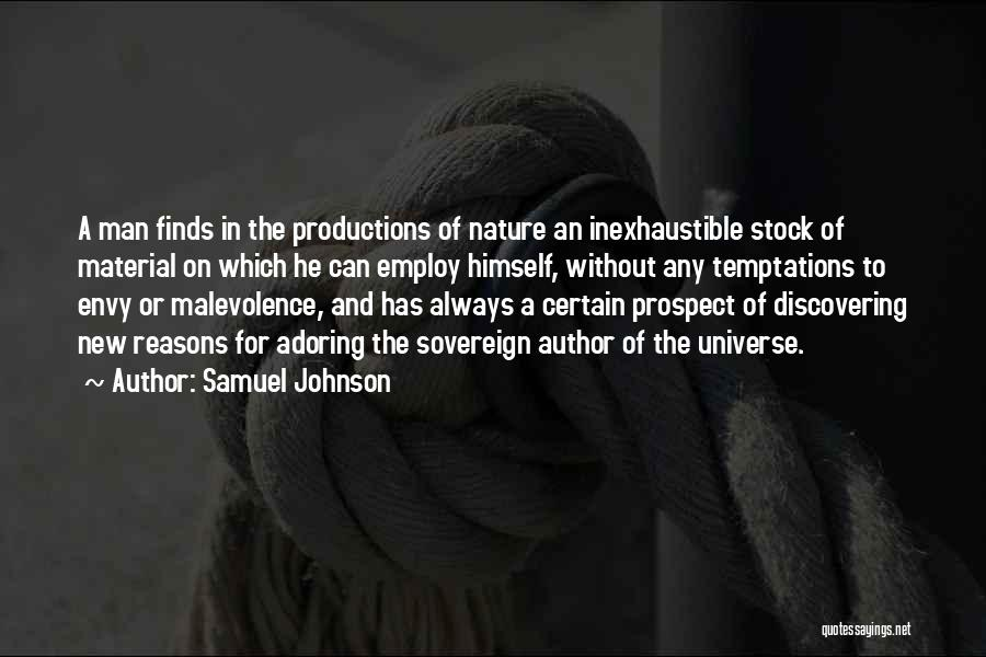 Discovering New Things Quotes By Samuel Johnson