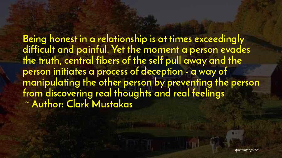 Discovering Self Quotes By Clark Mustakas