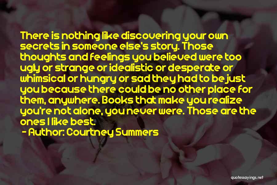 Discovering Self Quotes By Courtney Summers