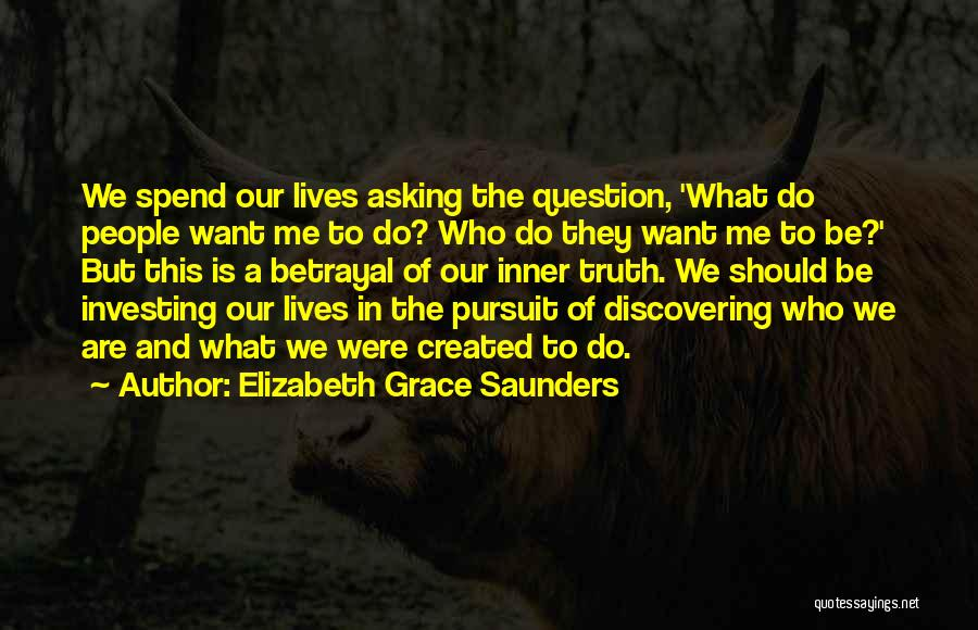 Discovering Self Quotes By Elizabeth Grace Saunders