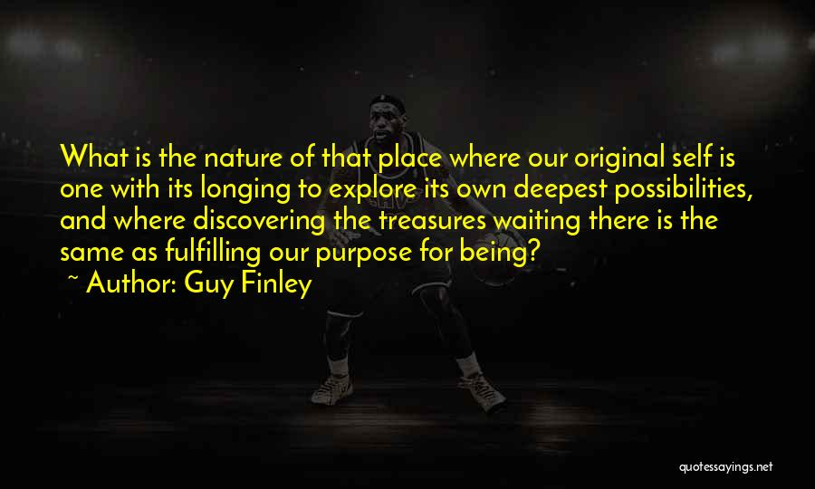 Discovering Self Quotes By Guy Finley
