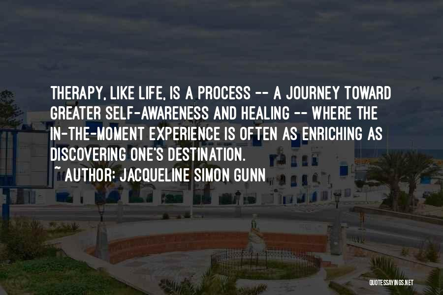 Discovering Self Quotes By Jacqueline Simon Gunn