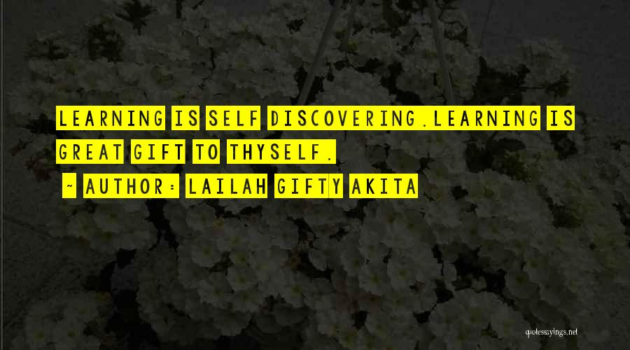 Discovering Self Quotes By Lailah Gifty Akita