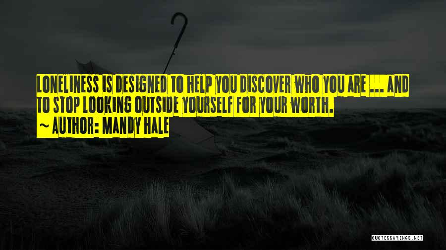 Discovering Self Quotes By Mandy Hale