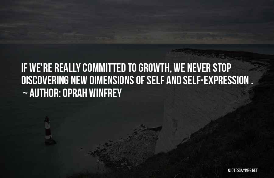 Discovering Self Quotes By Oprah Winfrey